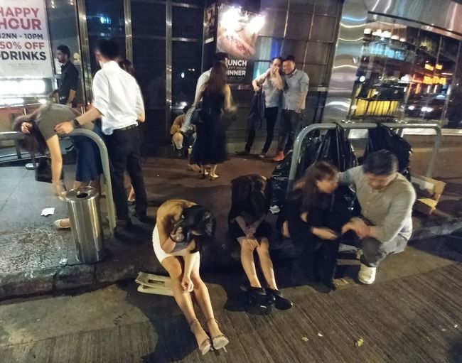 LKF Adult Bungalow City Group Of People Lifestyles Nightlife