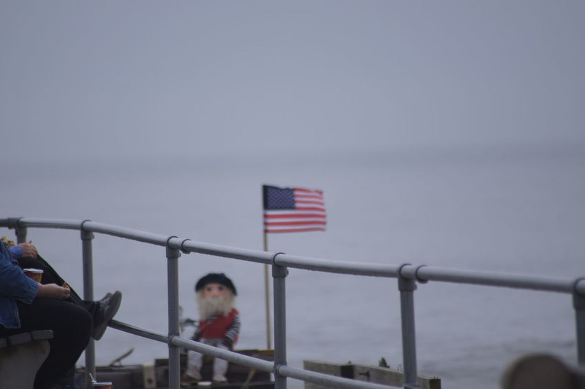 The American dream Patriotism Outdoors Beachside Foggy Morning Asburypark Colddayatthebeach USAtrip Naturelovers Beach Beauty In Nature Asbury Park New Jersey Oceangrovenj Oceangrove Newjersey Jerseyshore Flag Flags Flying Flags Ocean View Enjoyingtheview Sand Asbury Park Thinkingtime No People USA