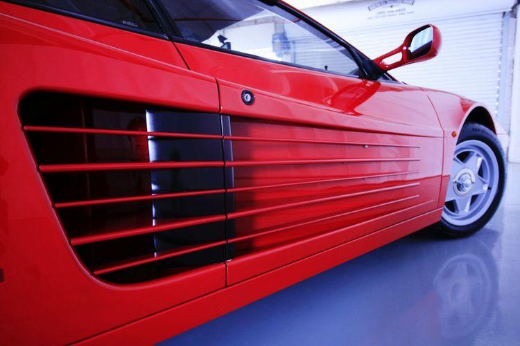 Ferrari Testarossa Car Automobile Industry Motor Vehicle Ferrari Testarossa Ferrari Testarossa Rosso Corsa Miami Red