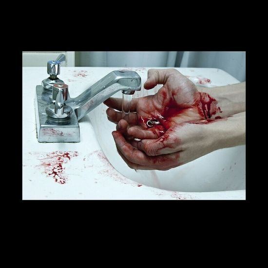 Hand Blood Broken Heart Pain