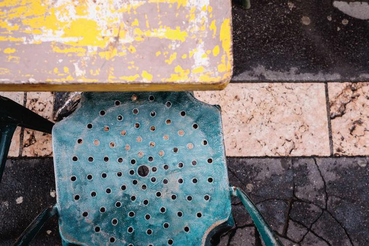 I love this colours! BonVoyage Colors FUJIFILM X-T1 High Angle View Rustygoodness Still Life Street Urban Geometry Vintage