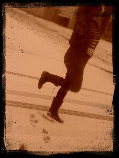 Thuggin In The Snow (: