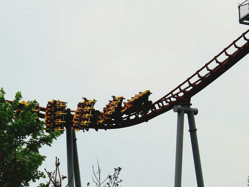 Thrill Rides Fun Kings Island Roller Coaster Iron