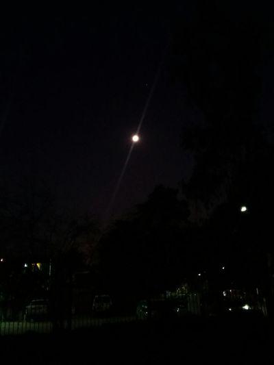 Night Sky Moon Chile