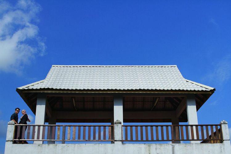 Blue Roof Sky