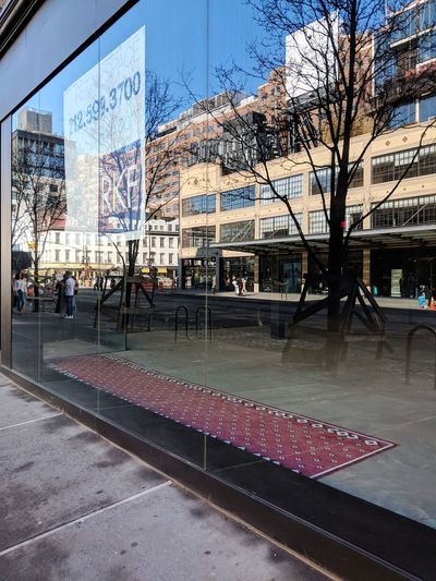 West 14th Street, Meatpacking. February 2018 Streetphoto_color Streetphotography Meatpacking District New York City Reflection Vacant Store Applestore Teampixel Manhattan Street Day Architecture Building Exterior Built Structure Outdoors