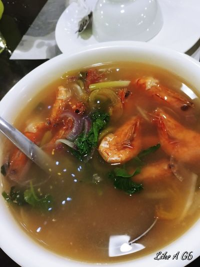 Soup Indoors  Healthy Eating Ready-to-eat SinigangNaHipon Seafoods Shrimps Cellphone Photography Lgg6