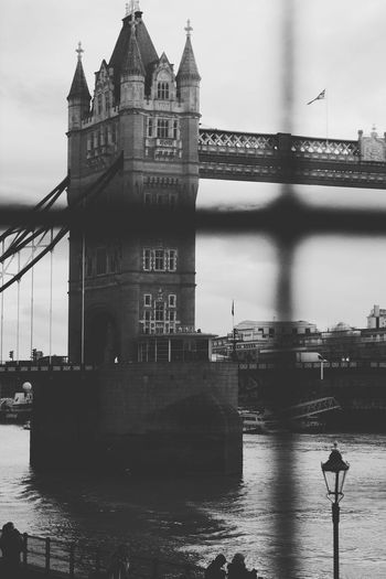 London Trip London Tower Bridge  Black And White River Water Travel Travel Destinations Outdoors City