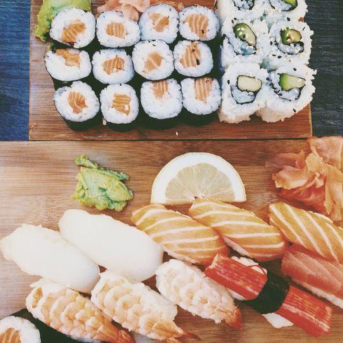 Sushi Delicious Food Orange By Motorola Food Porn Awards
