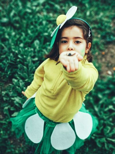 🌻🌻 Costume Flower Carnival Little Girl Children Only One Person People Cute Winter