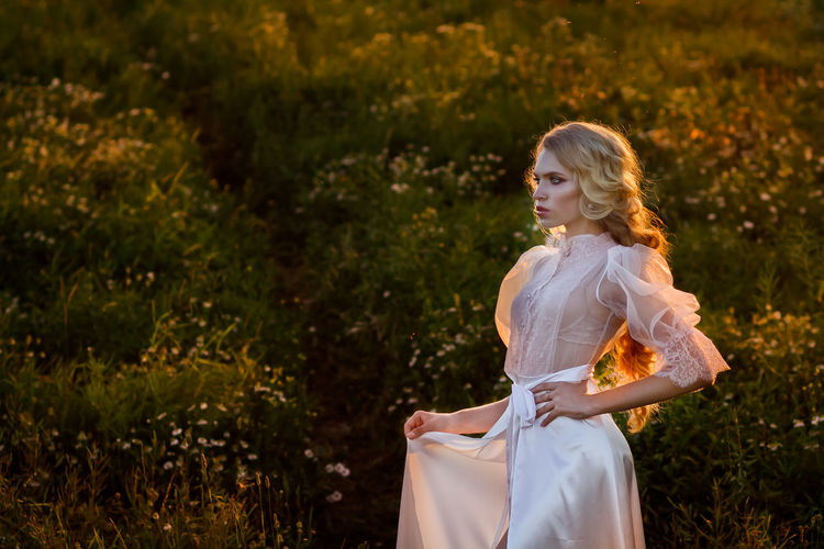 Arts Culture And Entertainment Beauty Day Editorial  Editorial Fashion Fashion Outdoors Shoot Summer Summertime Sunset Sunset_collection Wedding Wedding Day Wedding Dress Wedding Photography White Dress Cover Book Cover Magazine Magazine Cover