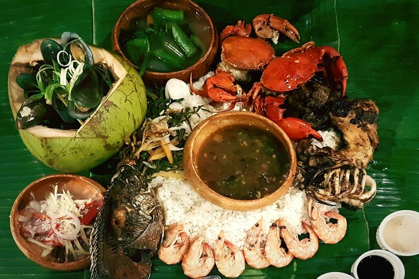 Kamayan BoodleFight Seafoods PhilippinePride Traditional Freshness S7edgephotography