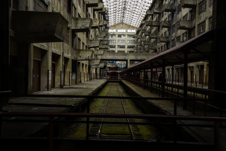 BKLYN Army Terminal lost in time. Photo by, Cooper Billington. Skylight Aged Architecture Army Indoors  Lost In Time Photo Photography Railroad Track Structure