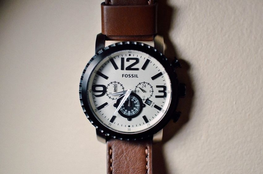 The precious time ever. Fossil Watch Fossilman Fossilwatch Lovely Present