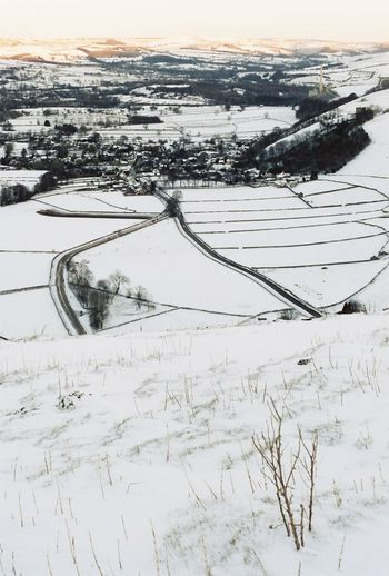 Castleton Winnats Pass Wilderness Scenics Silence Beauty Day No People Outdoors Landscape Beauty In Nature Frozen Tranquil Scene Nature Cold Temperature Winter Snow Sky Derbyshire Christmas Winter Is Coming Snow ❄ Snowing Fieldscape EyEmReady