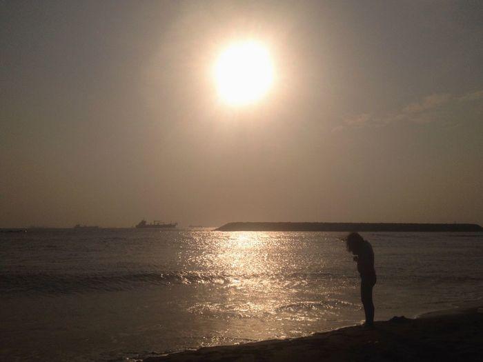 Enjoying The Sun Sea Relaxing Water Reflections