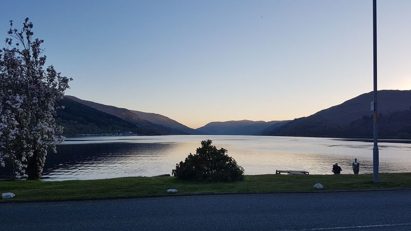 Loch Earn Water Lake Mountain Outdoors Sky Scenics Beauty In Nature Scotland 💕 S7 Photography Sunset