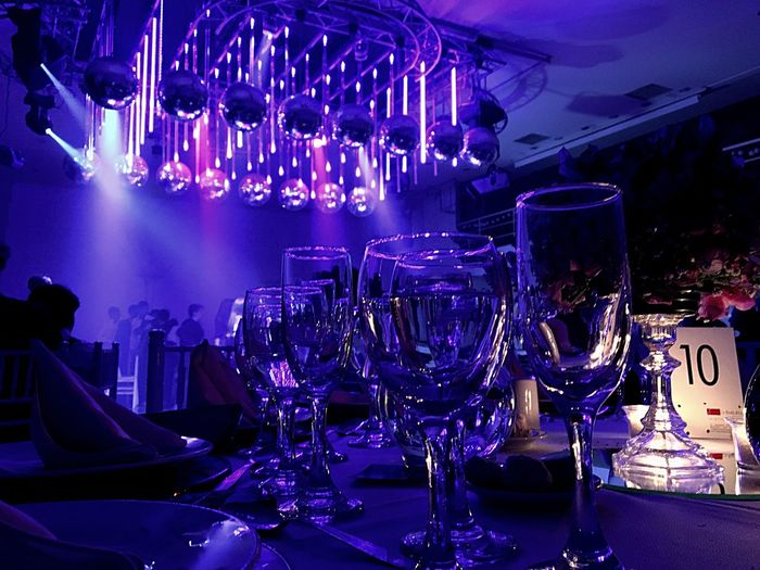 Bar - Drink Establishment Drink Food And Drink Industry Alcohol Drinking Glass Party - Social Event Indoors  Wineglass Modern No People Illuminated Liqueur