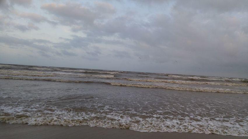 Cloud - Sky Water Windy Beach Enjoying The Day 💛 Sea Wave Sand Beach Rainy Season