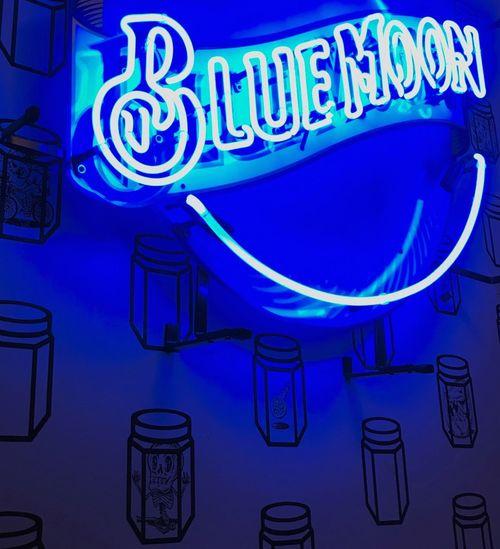 Text Blue