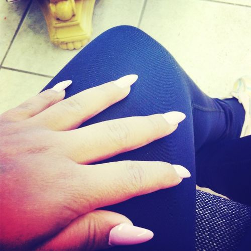 Got My Nails Done Fina Go Out To Eat
