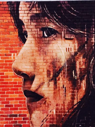 Photographic Approximation Facial Fragments Melbourne Graffiti
