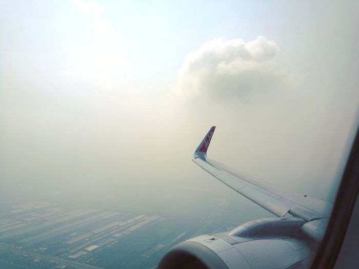 Calm Moments Airasia Travel Travel Photography Cloud - Sky Cloud Airplane Fly Aeroplane In The Sky Aeroplane Aeroplane Window Aeroplane Wing Aeroplane Window View Thailand Travelphotography Travelers Travelgram Aeroplane Engine Flight Flightview Water Sky Cloud - Sky Aircraft Wing Airways Flying Commercial Airplane Jet Engine Airplane Wing