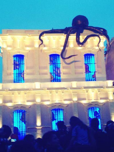 Colors Of Carnival Carnival Mazatlan 2016 Squid Blue Window Big House