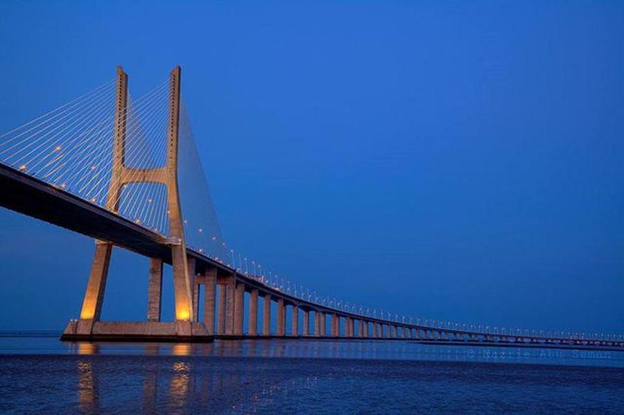 Vasco Da Gama Bridge   Lisbon, Portugal Travel Lisbon Portugal Vascodagama Mycanon Canon 5dMarkⅡ