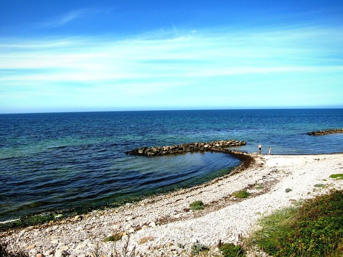Møn Summer Beach Water Sea Ocean Blue Blue Water Denmark Nature Nature Photography The Great Outdoors With Adobe The Essence Of Summer Fine Art Photography Hidden Gems  Home Is Where The Art Is TakeoverContrast The Great Outdoors - 2017 EyeEm Awards