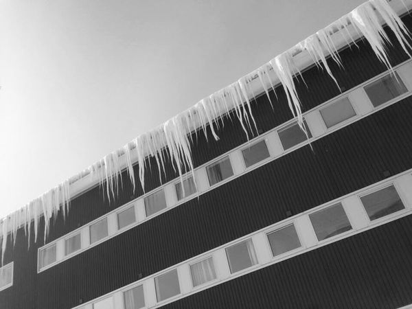 Icetaps Building Exterior Day Outdoors Outdoor Pictures Frozen Ice On Ice Winter Architecture Ice On The Window