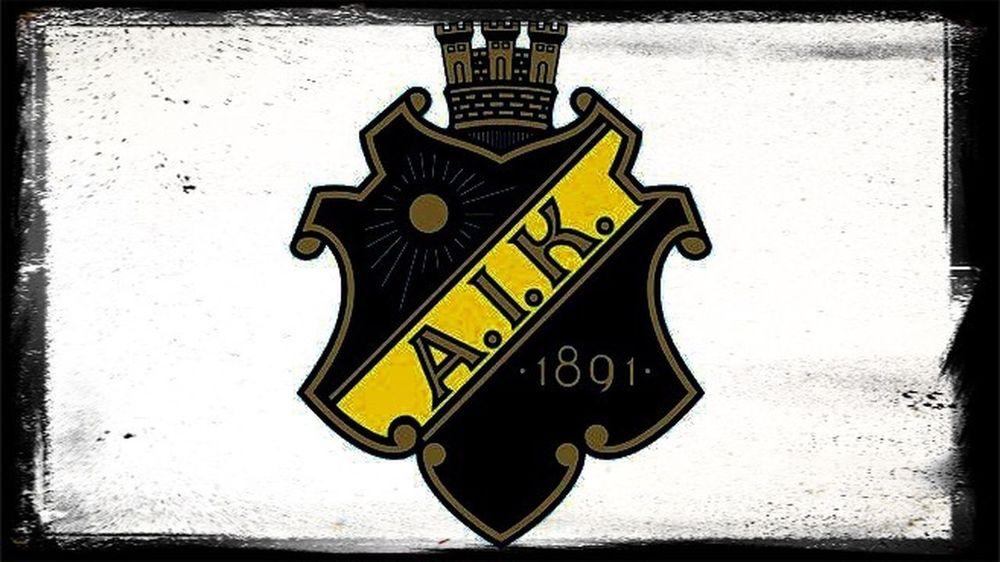 •1891• Två Färger En Tro AIK 1891 Life Love