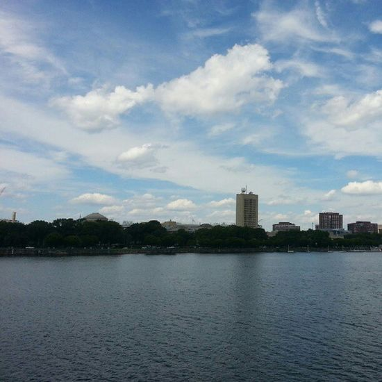 View of Mit in Cambridge from the Charles River.