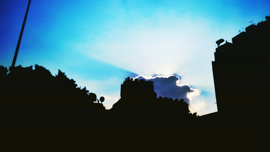 Silhouette Architecture Night No People Outdoors Building Exterior Sky Nature Egyptphotography Cairo Egypt Nature Beauty In Nature Lifestyles Streetphotography Urban Skyline Built Structure Architecture Day Cloud - Sky