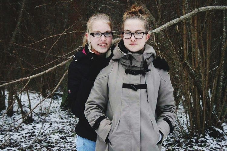 Cold Winter ❄⛄ Sister ❤ Photography Canonphotography Canon400d 05.02.2016 Estonian