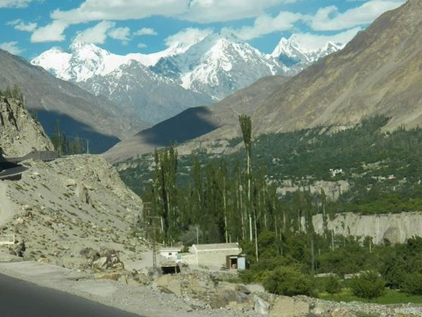 Hunza 1000 Year old village main route and stay of traders of silk route Pakistani Traveller Beauty Of Pakistan Driving Through The Hills On A Tour