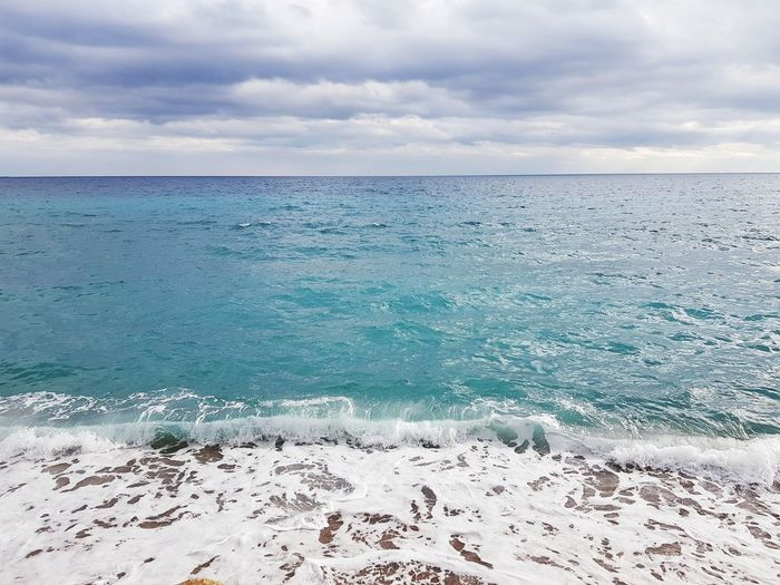 Beach Sea Beauty In Nature Sand Scenics Horizon Over Water Landscape Travel Destinations Summer Horizon No People Idyllic Tranquility Day Outdoors Nature Cloud - Sky Water Sky Blue