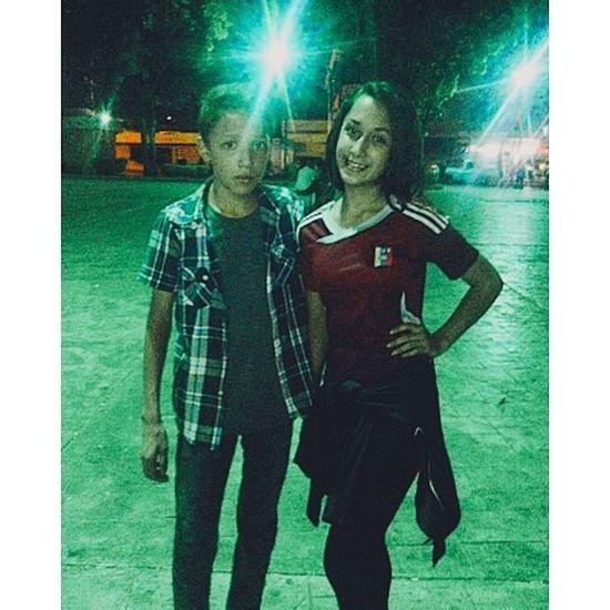 Con ella♥