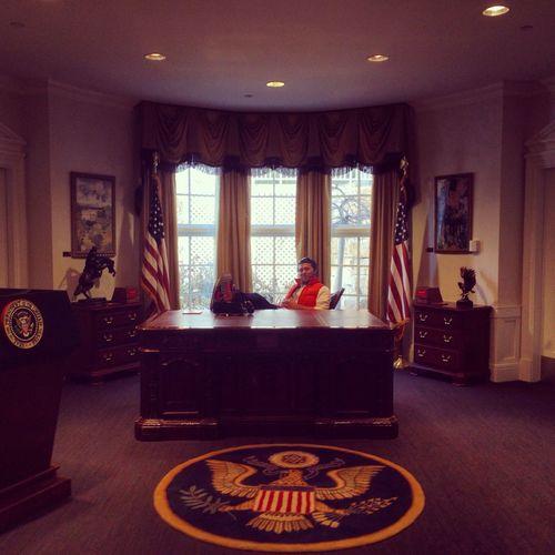 President Taking Photos