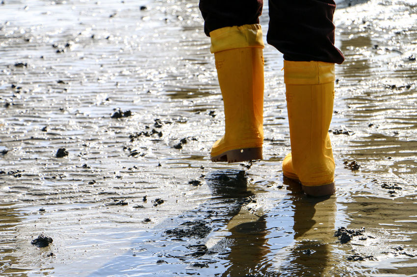 Beach Beach Life Beach Photography Beachlife Beachphotography Day Gummistiefel  Juist Juist Nature And Sky Mud Flat Mudflat Hiking Outdoors Rubber Boots Rubberboots Travel Travel Destinations Traveling Travellover Watts Wattwanderung Moments Of Happiness