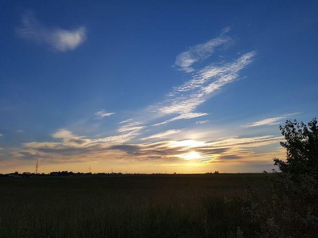 Taking Photos Walking Around Suwalszczyzna Evening Light Sunset Sunlight Suwałki Poland