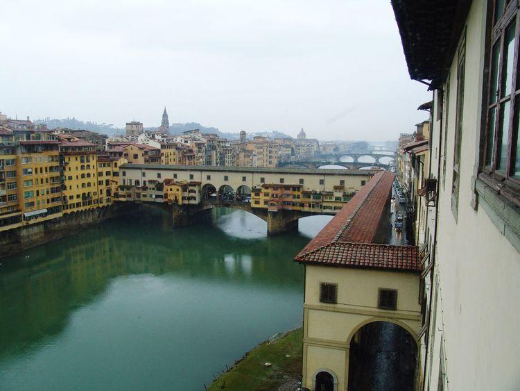 Firenze Ponte Vecchio Architecture River Arno Arno  Tourism