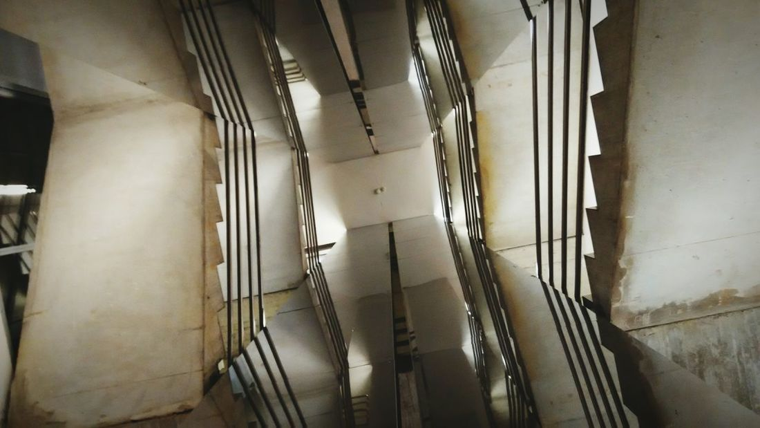Staircase Spiral Pattern The Architect - 2017 EyeEm Awards