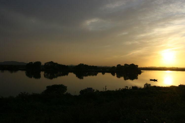 120Film Mamiya 645 RVP50 Sky Sunset