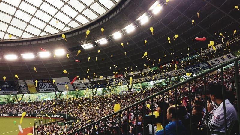Baseball Just Finished Baseball Game Softbank Softbank Hawks Softbankhawks SoftBankホークス Vs Lions Seibu Dome
