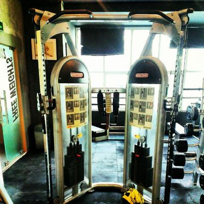 I want this for my house. Gym Wellness AsweatAday