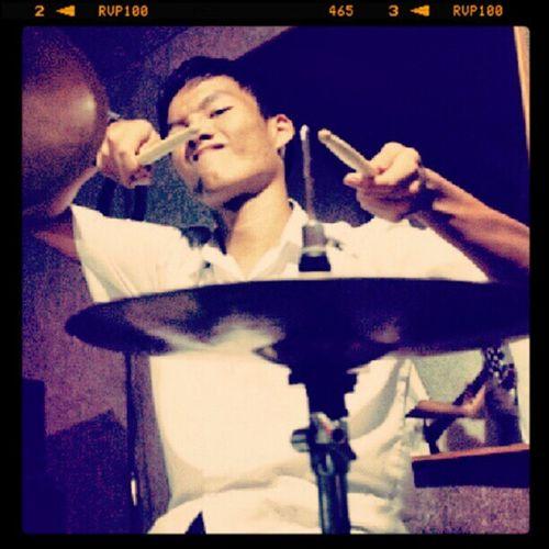 Drumsticks Hihats Drumkit Studio photograph