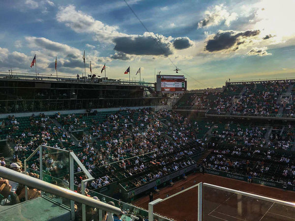 ROLAND GARROS RG2017 Sky Stadium City Cloud - Sky