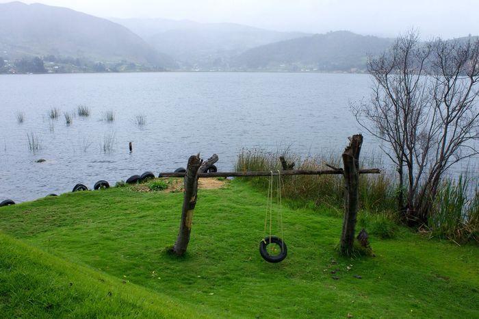 At The Lake Lago De Tota Colombia Lago De Tota