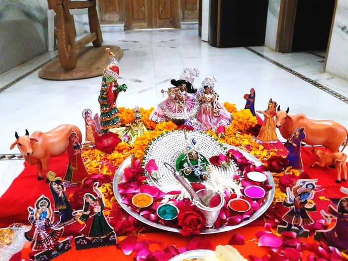 toy Village Jai Shree Krishna Devotion Holi Parv Here Belongs To Me 📍